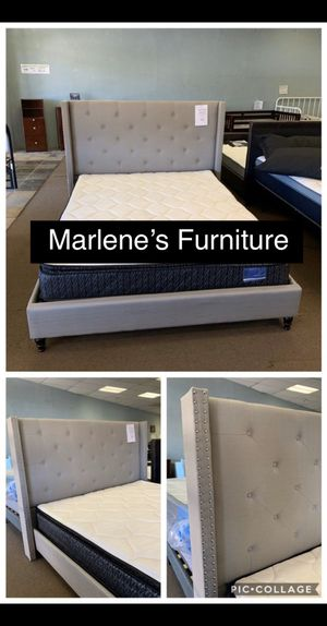Queen Bed Frame Only for Sale in Hesperia, CA