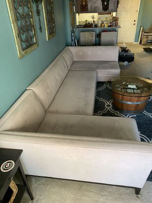 Sectional couch 3 piece from Living Spaces for Sale in Long Beach, CA