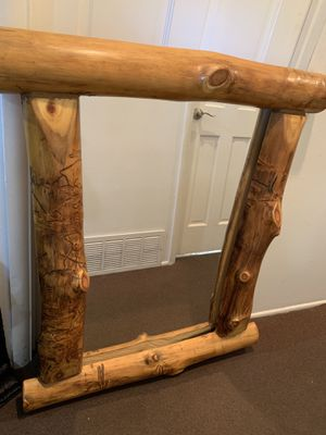 Log hand made Mirror for Sale in Commerce City, CO