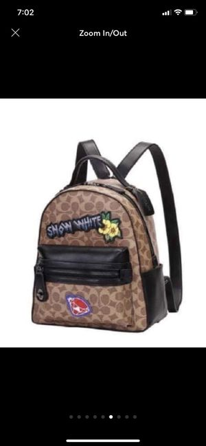 Disney Snow White signature Coach Back Pack for Sale in Townsend, DE