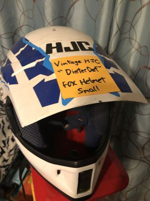 HJC FOX RACING HELMET for Sale in Hamilton Township, NJ