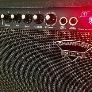 FENDER CHAMPION 300 Amplifier Good! for Sale in Lemon Grove, CA