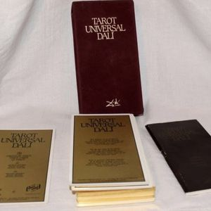 Salvador Dali Gold Vintage Oracle Tarot Deck First Edition for Sale in Edgewood, FL