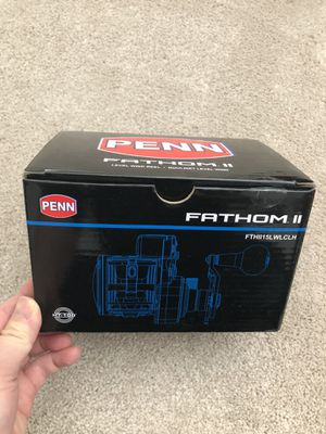Penn Fathom II Level Wind 15 Line Counter Left Handed Conventional Reel for Sale in Irvine, CA