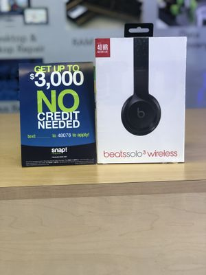 Beats Solo 3 (No Credit Needed!!) As low as 39$ down today! for Sale in Los Angeles, CA