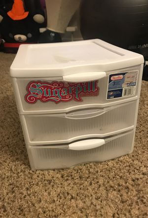 Plastic Drawer Organizer for Sale in San Bernardino, CA