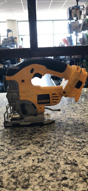 DeWalt DC330 Cordless Variable Speed Jig Saw. 18V Jigsaw with 20V adapter for Sale in Revere, MA