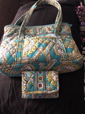 Vera Bradley shoulder bag with matching small wallet for Sale in Natural Bridge Station, VA
