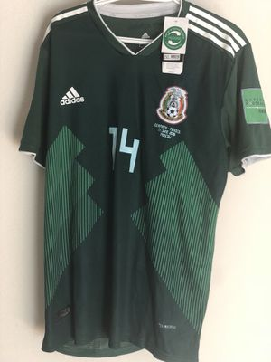 Authentic Adidas 2XL Mexico World Cup Jersey (Germany Vs. Mexico) for Sale in Houston, TX