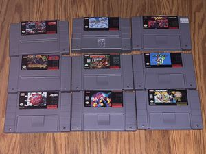 SNES Super Nintendo Games for Sale in Lakeland, FL