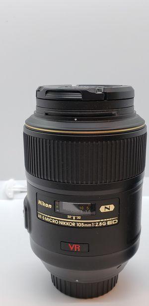 Nikkor 105mm macro for Sale in Lewes, DE