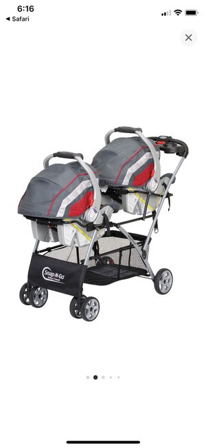 Snap and Go Double Stroller for Sale in Evanston, IL