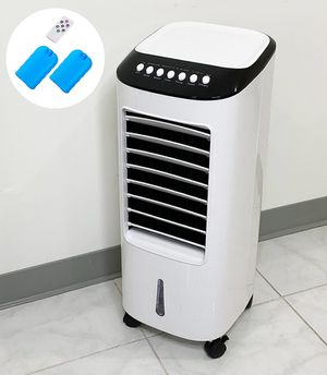 "(NEW) $75 Portable 11x11x27"" Evaporative Air Fan Indoor Humidifier w/ Remote Control for Sale in South El Monte, CA"
