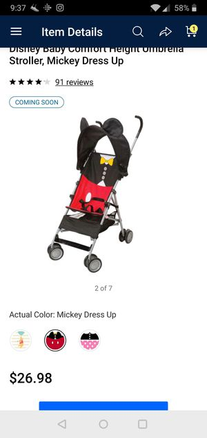 Disney stroller rarely used like new. for Sale in Atlanta, GA