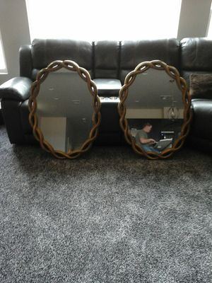 Matching oval mirrors for Sale in Las Vegas, NV