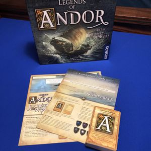 Legends of Andor Journey to the North board game for Sale in Chandler, AZ