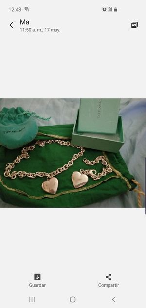 Tiffany set chain and bracelet for Sale in Tampa, FL