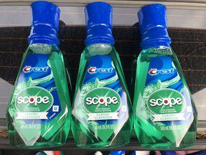 Crest Scope Mouthwash 500ml for Sale in Norwalk, CA