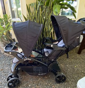 Baby trend sit and stand tandem double stroller for Sale in San Diego, CA