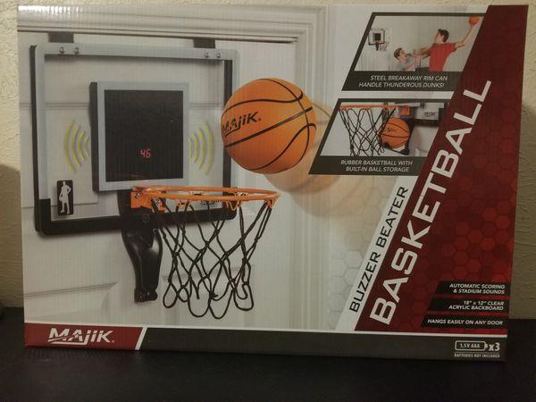 Basketball goal for closet