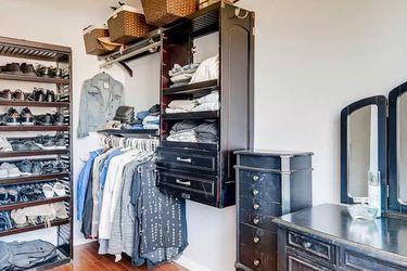 John Louis Home Closet Organizer Rack Shelves Drawers Hardware Included for Sale in Littleton,  CO