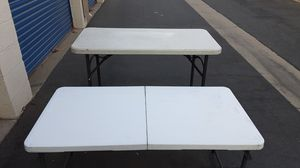 Folding tables for Sale in Canoga Park, CA