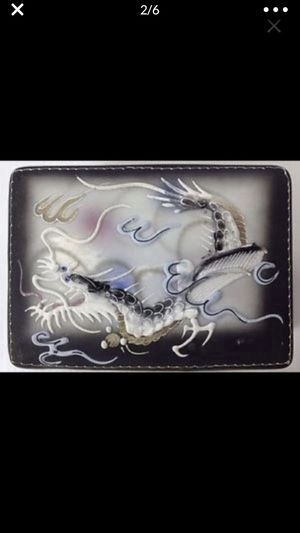 Dragonware dragon ware cigar cigarette joint? Lidded box & ashtray stash box? for Sale in Portland, OR