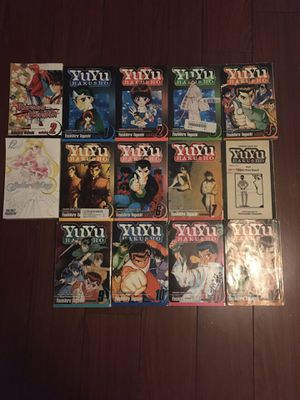 Yuyu Hakusho volume 1-12, Sailor moon, Ruroni Kenshin Anime/Manga for Sale in Alexandria, VA