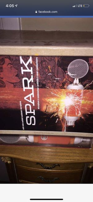 Blue Spark Microphone for Sale in Lafayette, LA
