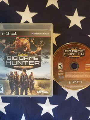 Cabela Big Game Hunter Pro Hunts (PS3) for Sale in US