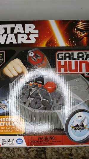 Star wars galaxy hunt board game for Sale in Gilbert, AZ