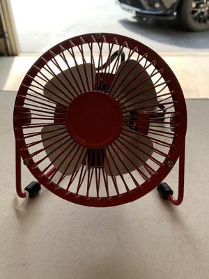 """Red Metal Desk Fan 5.5"""" for Sale in Freehold, NJ"""