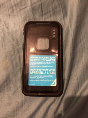 Life proof case for iPhone X for Sale in Fairfax, VA