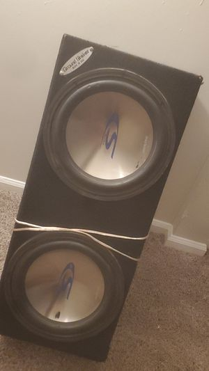 "2 12"" Alpine bass for Sale in Charlottesville, VA"