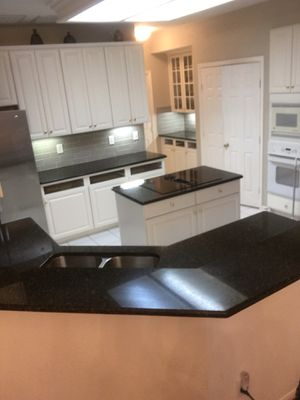 Beautiful color granite ubatuba granite 3cm starting price $29.99 square feet for Sale in Houston, TX