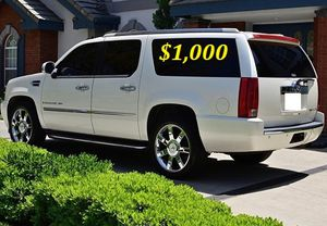 $1,OOO I'm selling urgently 2OO8 Cadillac Escalade. for Sale in Port St. Lucie, FL