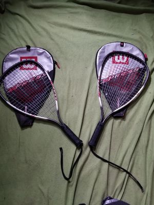 Wilson titanium Express tennis rackets for Sale in Sunbury, PA