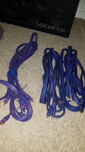 Car audio Rca cables for Sale in Laveen Village, AZ