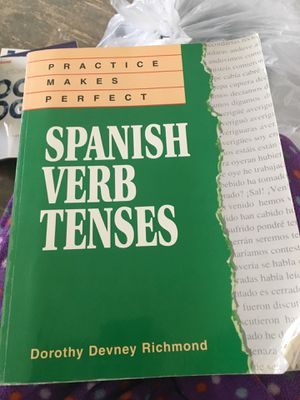 Spanish verb Tenses for Sale in Hamshire, TX