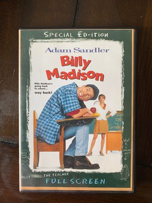 Billy Madison DVD (special edition) for Sale in San Marino, CA