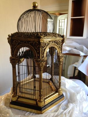 Elegant Victorian Style Fully Functional Birdcage for Sale in Lake Charles, LA