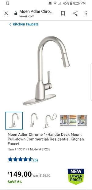 Moen kitchen faucet for Sale in Steilacoom, WA