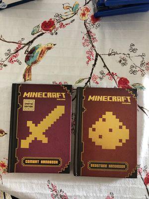Minecraft handbook for Sale in Falls Church, VA