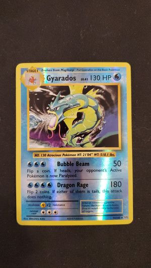 Gyarados and Magikarp pokemon cards in mint condition for Sale in Conifer, CO