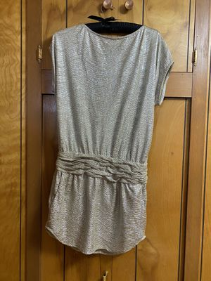 BCBG Silver Dress, New with tags for Sale in Wichita, KS