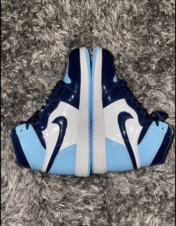 Men's 5.5= Women's 7 Nike Air Jordan 1 Blue Chill NO BOX! NO TRADES
