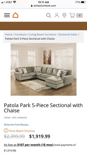 Sectional Couch - Read Description! for Sale in Mt. Juliet, TN