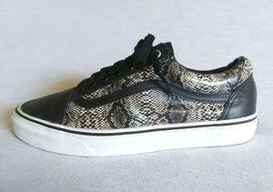 Mens 9 Vans snakeskin Shoes for Sale in Philadelphia, PA