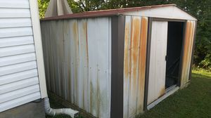 "FREE SHED for taking & reassembling or junk-metal. ""See all pics"". for Sale in La Vergne, TN"