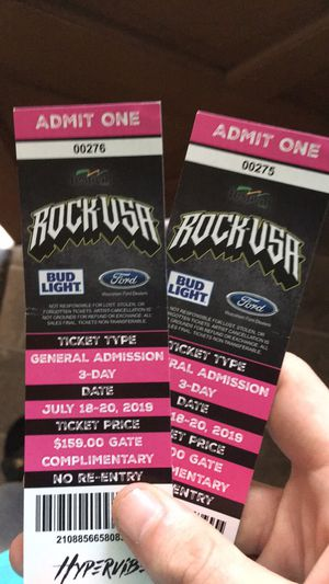 Rock USA tickets for Sale in Merrill, WI